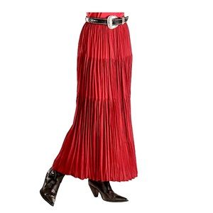 Double D Ranch Tiered Broomstick Maxi Skirt